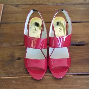 Michael Michael Kors Red sandals